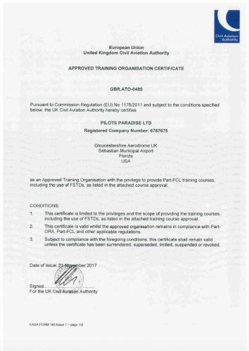 ATO Certificate ATO0485